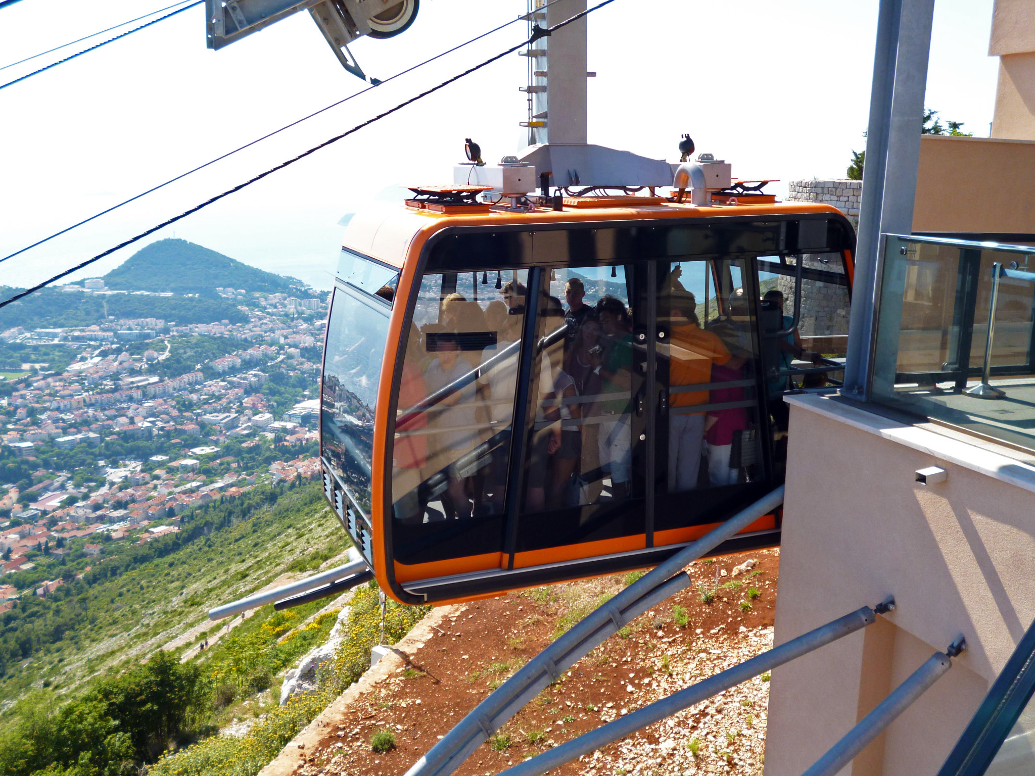 image of cable car