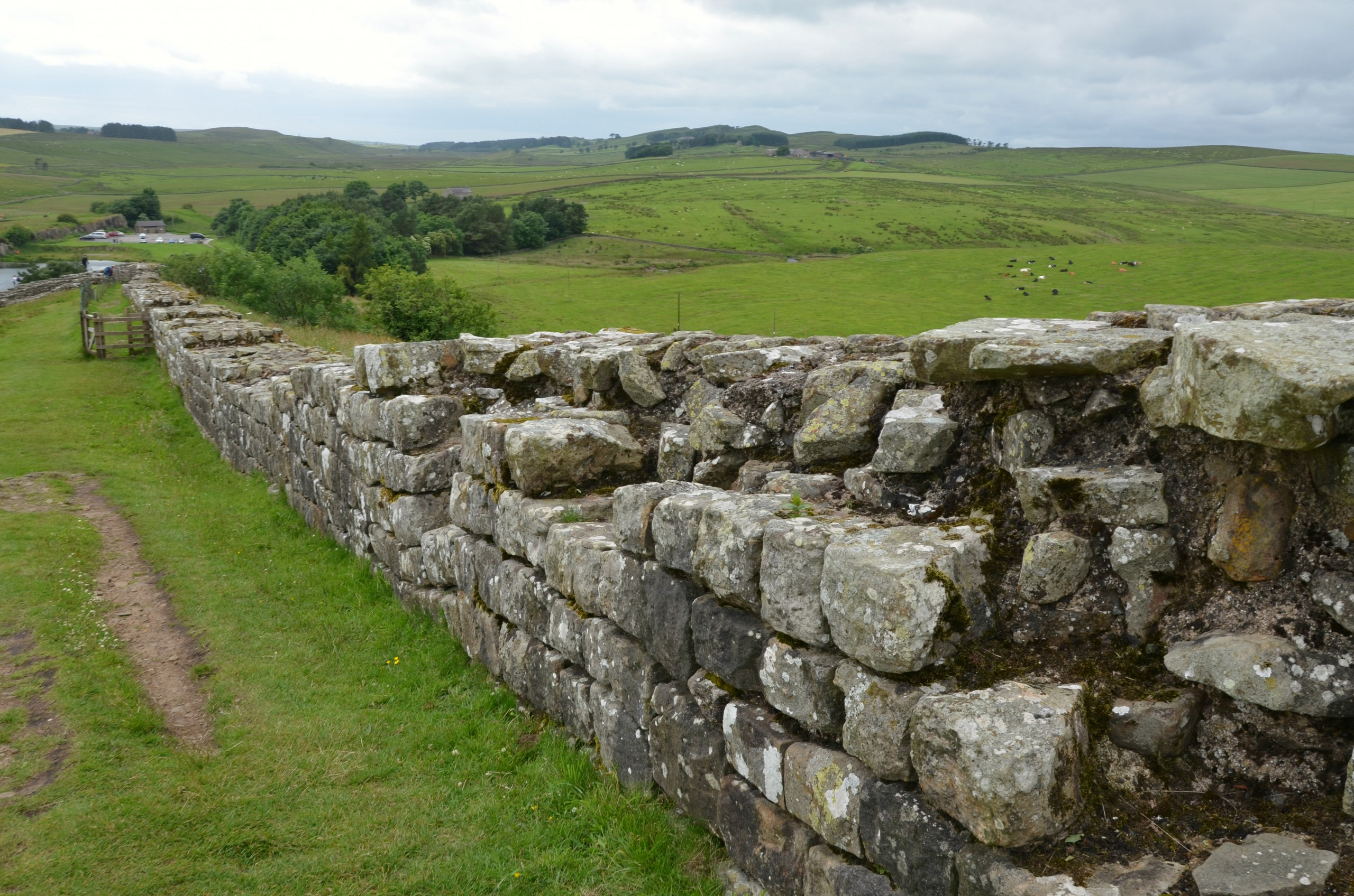 image of Hadrian's wall
