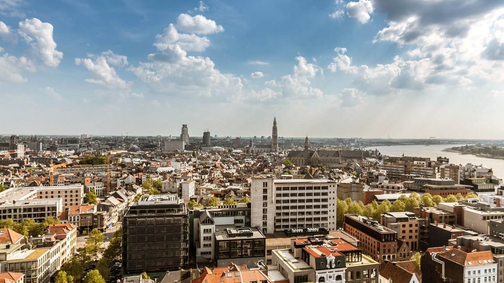 View of Antwerp