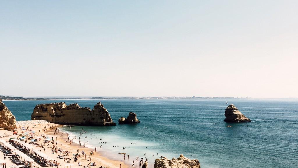 The beach near to Faro